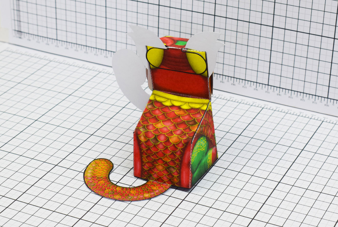 Toys For Chinese New Year : Chinese new year cat fold up toys