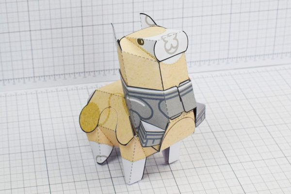 PTI Attacka Alpaca Cute Paper Toy Image Armour