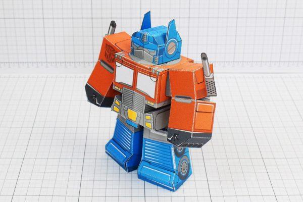PTI Optimus Prime Transformers Urban Paper Toy Image Main
