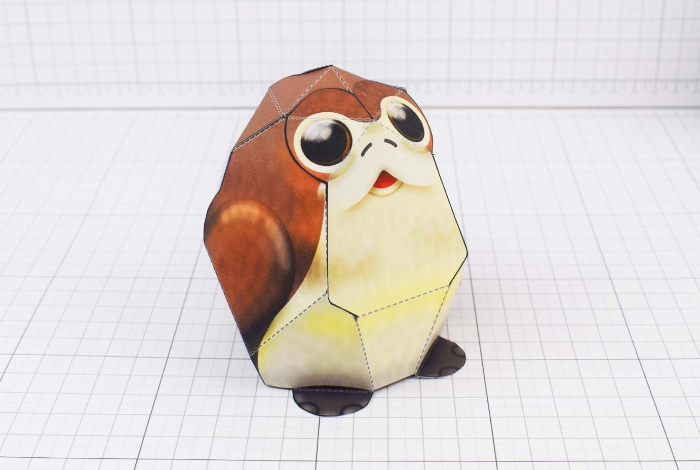 PTI Porg Star Wars Paper Toy Image - Main