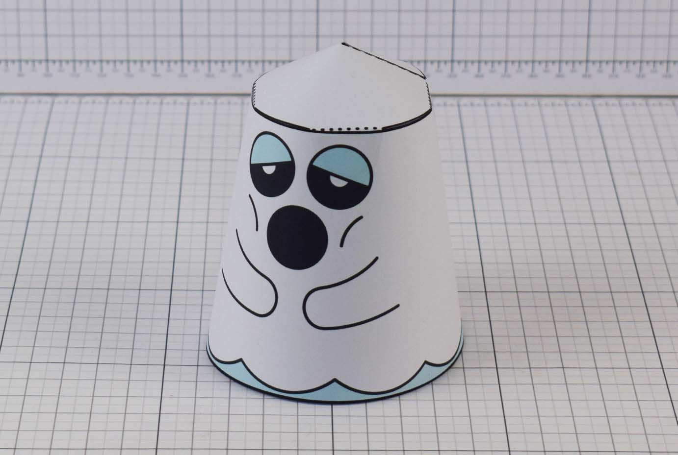 PTI Halloween Ghost Paper Toy Image from Twinkl - Main