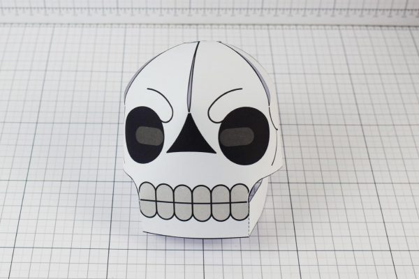 PTI-PTP-Halloween-Skull-Craft-Paper-Toy-Image-Front