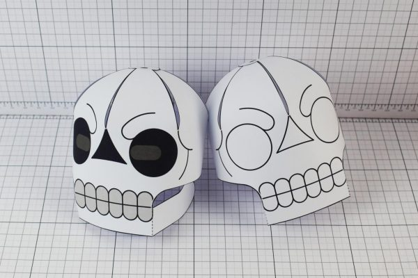 PTI-PTP-Halloween-Skull-Craft-Paper-Toy-Image-Grouo