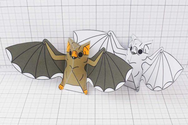 PTI-PTP-Halloween-Vampire-Bat-Craft-Paper-Toy-Image-GroupA