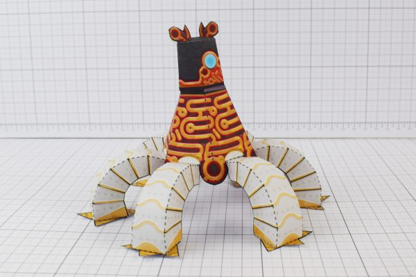 PTI Zelda Breath of the Wild LinkGuardian Paper Toy Image - Guardian