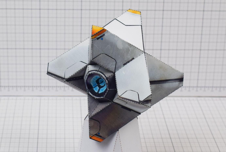 PTI Destiny Ghost Fan Art Paper Craft Image - Main