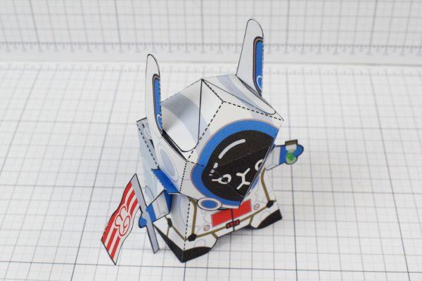 PTI Moon Rabbit Paper Craft Image - Top