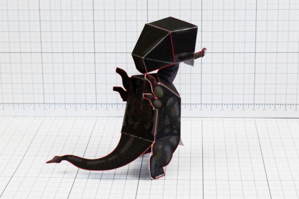 PTI - Xenomorph Alien Fan Art Paper Toy Craft Image - Back