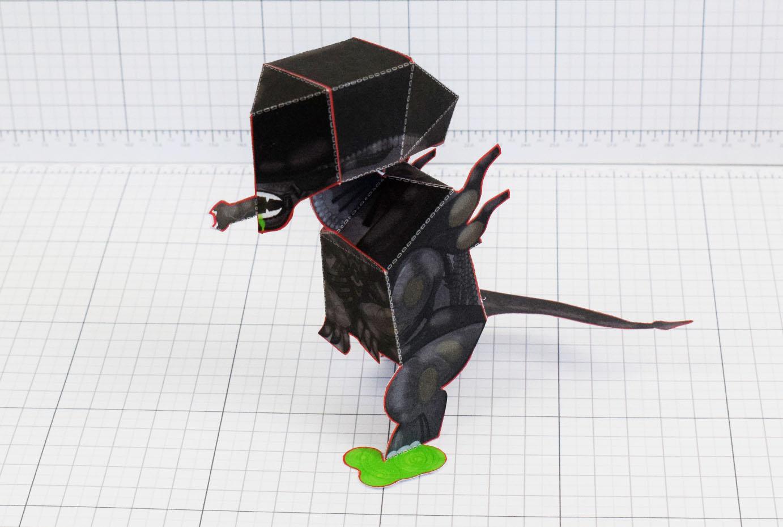 Xenomorph alien fold up toys pti xenomorph alien fan art paper toy craft image main jeuxipadfo Images