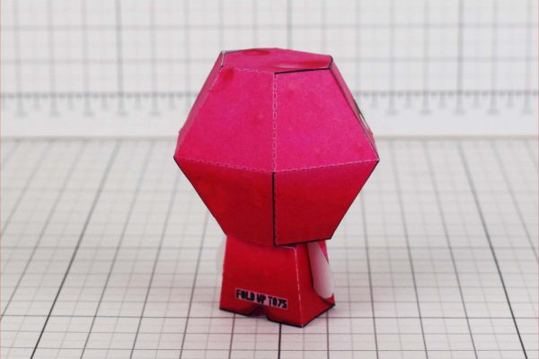 PTI - Binding of Isaac - Lust paper toy - Back