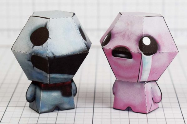 PTI - Greed - Binding of Isaac paper toy image - Isaac