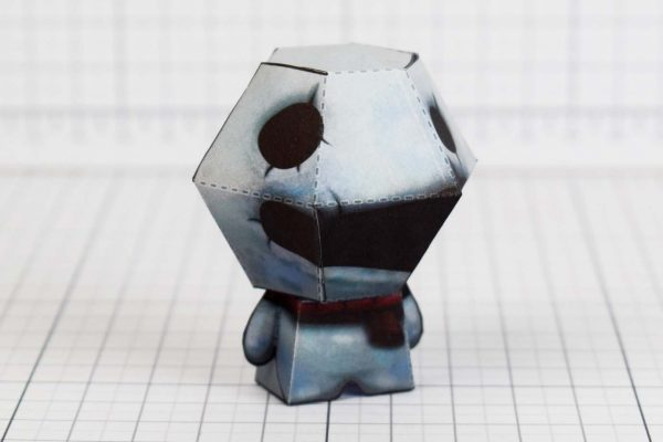 PTI - Greed - Binding of Isaac paper toy image - Side B