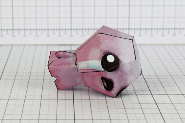 PTI - Isaac - Binding of Isaac paper toy model image - Crying