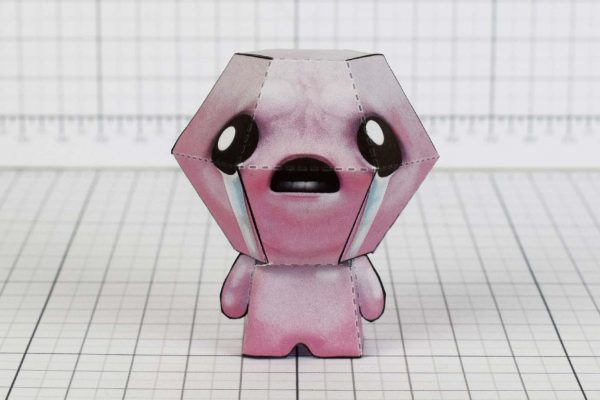 PTI - Isaac - Binding of Isaac paper toy model image - Main