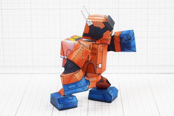 PTI - Nintendo Labo Robot Paper Toy Craft Image - B Side Punch