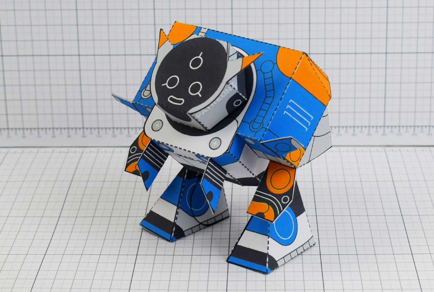 PTI Patreon March - Utilitrap Paper Toy Photo - Main