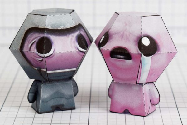 PTI - Wrath - Binding of Isaac paper toy Image - Isaac