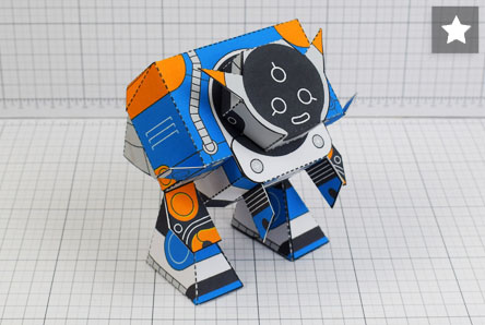 THU Patreon March - Utilitrap Paper Toy Photo - Thumbnail PLUS