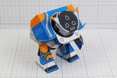 THU Patreon March - Utilitrap Paper Toy Photo - Thumbnail