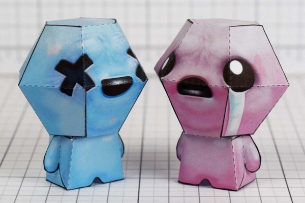 PTI - Blue Baby - Binding of Isaac paper toys image - Isacc