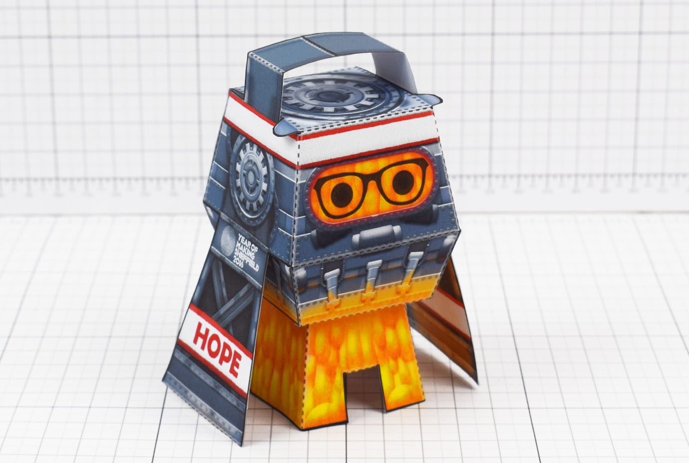 PTI - Forge Hope Works Paper Toy Image - Main