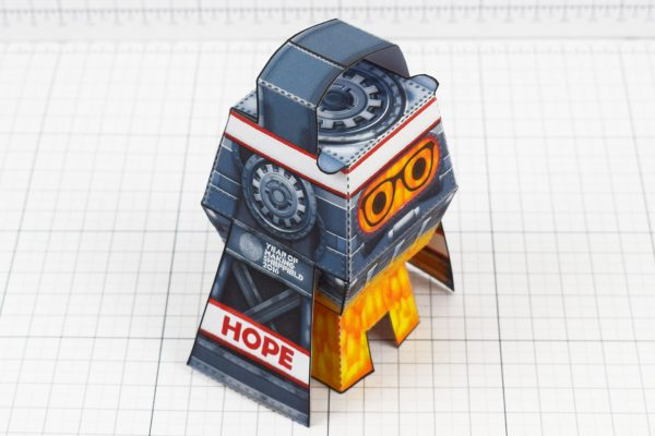 PTI - Forge Hope Works Paper Toy Image - Top