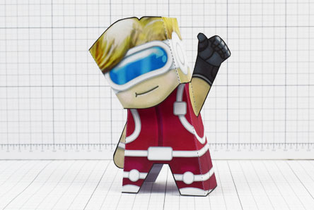 THU - Hallam Prosthetic Project Paper Toy Image- Thumbnail