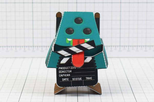 PTI - Media Monsters Director Paper Toy Image - Front
