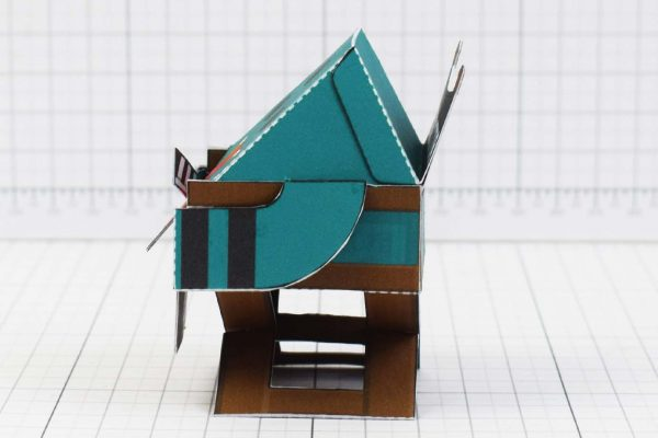 PTI - Media Monsters Director Paper Toy Image - Side