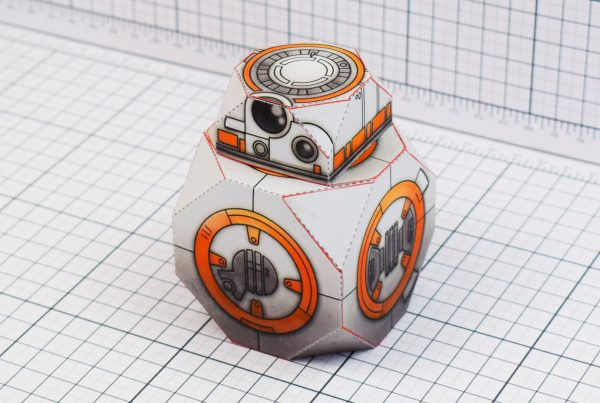 PTI BB-8 Droid Star Wars Paper Toy Main Image