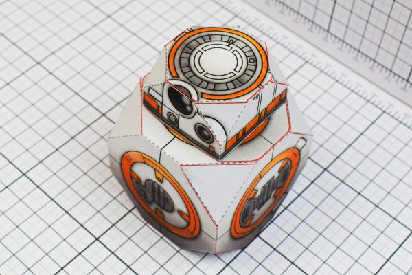 PTI BB-8 Droid Star Wars Paper Toy Top Image