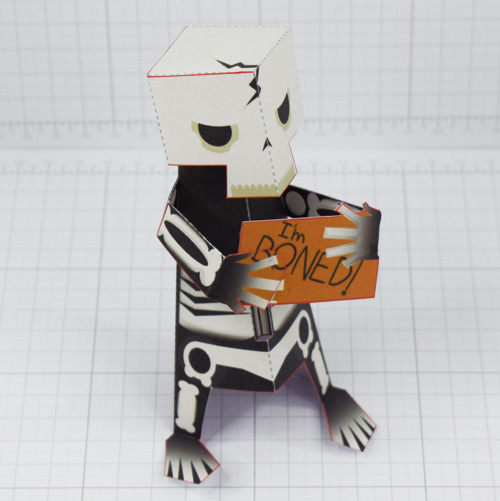 PTI- Skeletoon 2021 - Fold Up Toy - Thumbnail