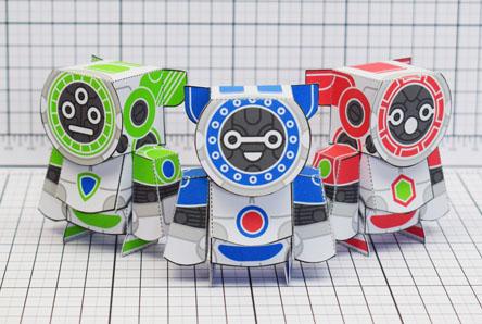 THU UPC Robot Paper Toy Single Thumbnail