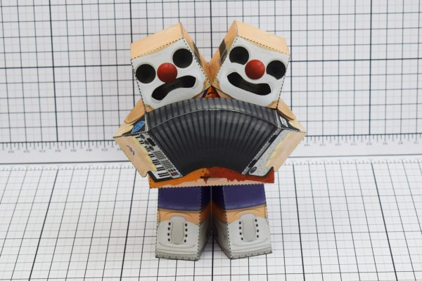 PTI Chuckle Cheer Clown Paper Toy Image Front