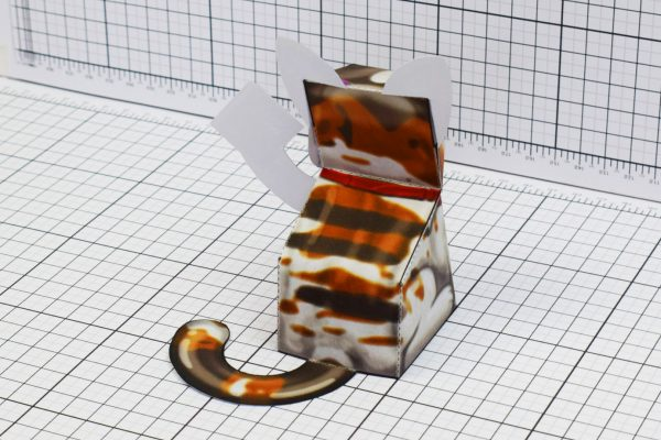 PTI Creationist Cat Bible Paper Toy Image Back