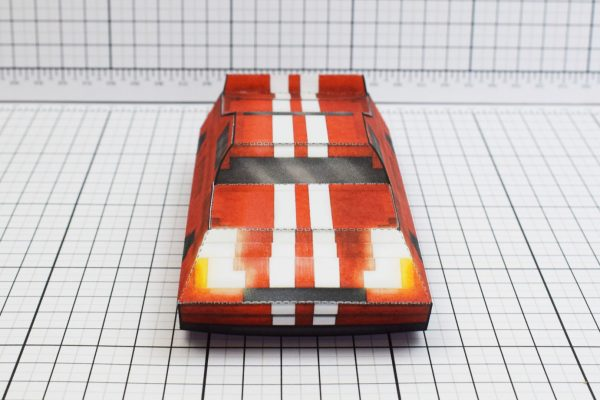 PTI Pixel Maximum Car Lord-GT Paper Toy Image Top