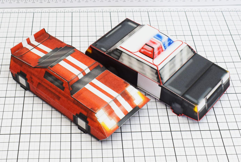 Maximum Car Indie Game Fold Up Toys