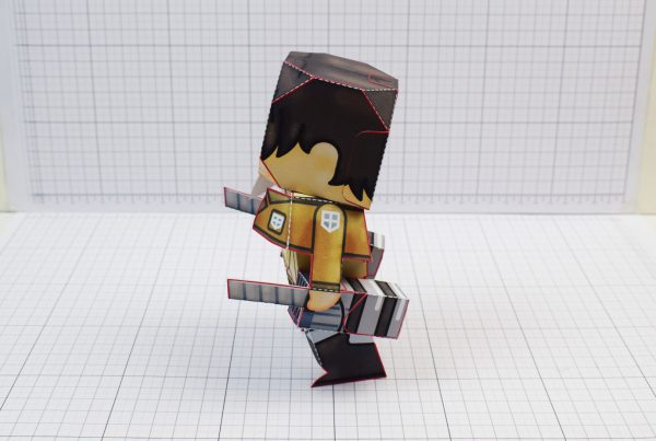 PTI Attack on Titan Cute Paper Toy Image Side