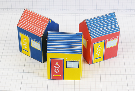 THU Emma Fitz Collab House Paper Toy Single Thumbnail