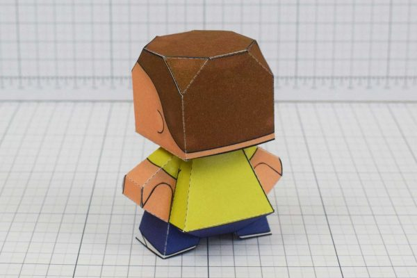 Rick and Morty Downloadable Paper Craft Toys Adult swim free toy model
