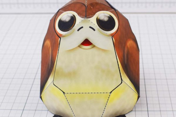 Test Image - Square Porg 2