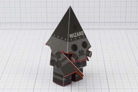 THU Swat Wizard Robot Paper Toy Image - Thumbnail
