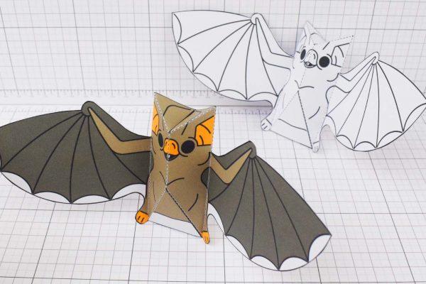 PTI-PTP-Halloween-Vampire-Bat-Craft-Paper-Toy-Image-Main