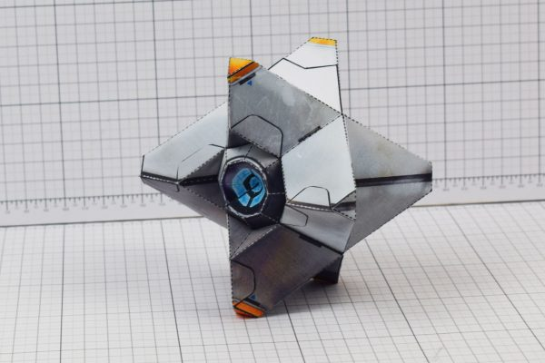PTI Destiny Ghost Fan Art Paper Craft Image - Floor