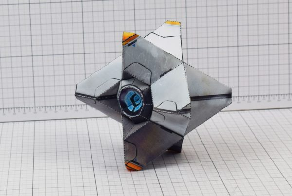 PTI Destiny Ghost Fan Art Paper Craft Image - Floor