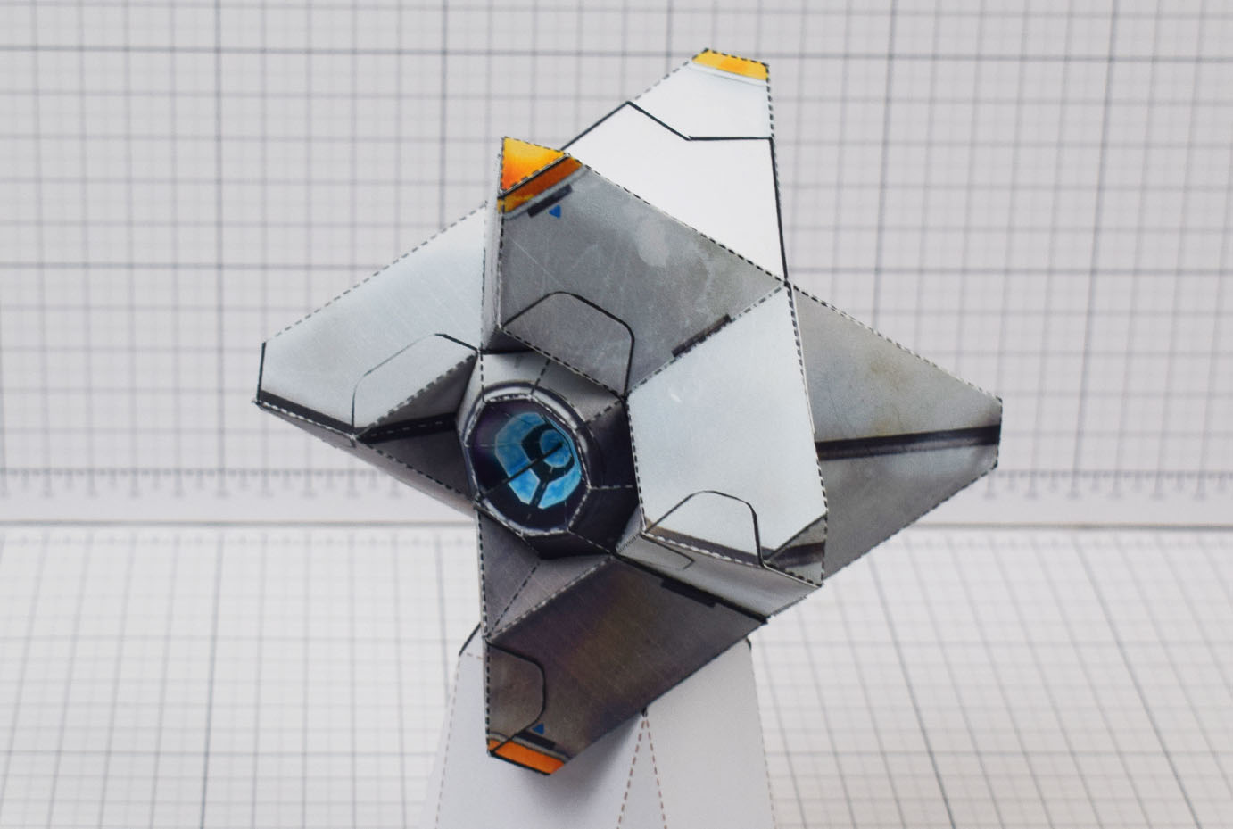 PTI Destiny Ghost Fan Art Paper Craft Image - Main