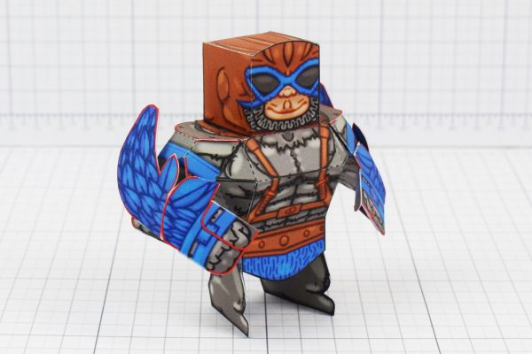 PTI Eternians Stratos MOTU Fan Art Paper Craft Image - Alt