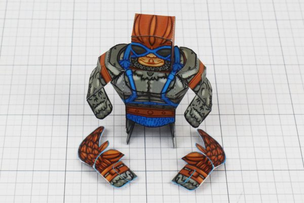 PTI Eternians Stratos MOTU Fan Art Paper Craft Image - Wings