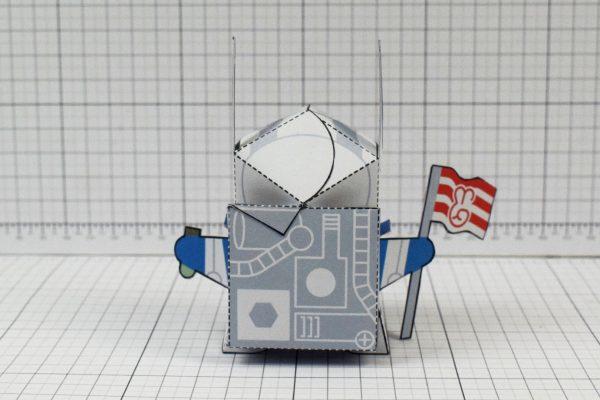 PTI Moon Rabbit Paper Craft Image - Back
