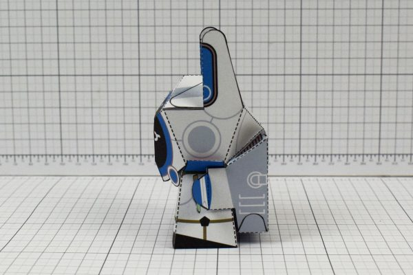 PTI Moon Rabbit Paper Craft Image - Side